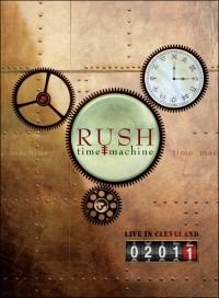 Rush Time Machine 2011 DVD